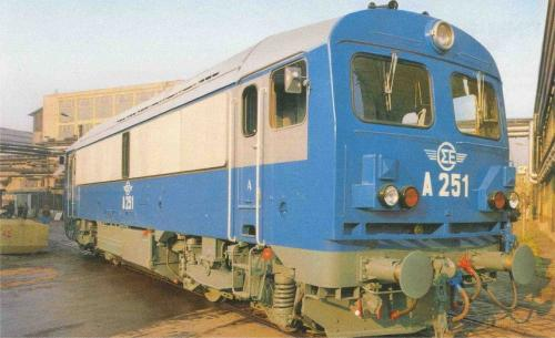 Ganz mozdony DHM-14 Csörgő (görög export)